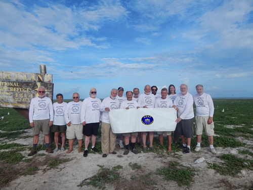 Team Photo KH1/KH7Z Baker Island 2018